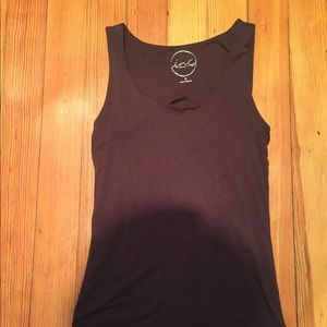 Chocolate Brown INC Tank